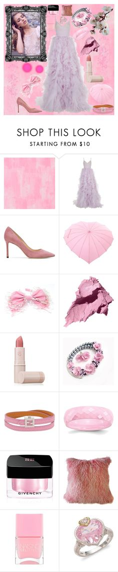 """Dream within a dream..."" by fandom-girl365790 ❤ liked on Polyvore featuring Designers Guild, Monique Lhuillier, Jimmy Choo, Bobbi Brown Cosmetics, Lipstick Queen, Fendi, Givenchy, Nails Inc. and Judith Ripka"