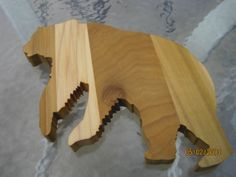 S M O K E Y  MOUNTAIN BEAR Tennessee Cutting Board by Toadems, $14.50