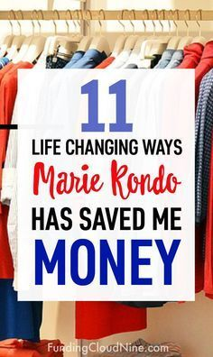 We all know that the KonMari Method can help us declutter and get organized. But implementing Marie Kondo's method had another surprising bonus for me - it saved me tons of money! Find out how I saved money with the KonMari Method and get some great money Save My Money, Ways To Save Money, Best Money Saving Tips, Saving Money, Money Tips, Money Budget, Home Depot, Konmari Method, Marie Kondo