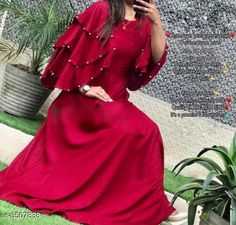 Checkout this latest Gowns Product Name: *Stylish Pure Rayon 14 Kg Women's Gown* Sizes: M Easy Returns Available In Case Of Any Issue   Catalog Rating: ★4.1 (6332)  Catalog Name: Siya Pure Rayon 14 Kg Fashionable Gowns CatalogID_488304 C79-SC1289 Code: 184-3507838-7221