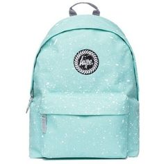 mint/white Speckle Backpack by Hype