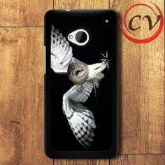 Flying Owl HTC One M7 Black Case