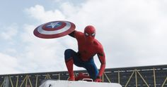 Marvel just released new trailer for Captain America Civil War and we have our first look of Spiderman. Its so awesome. SpiderMan First Look In Civil War Spiderman Civil War, Tom Spiderman, Spiderman Drawing, Tom Holland, Captain America Civil War, Steve Rogers, Ms Marvel, Marvel Avengers, Marvel Heroes