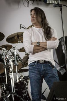 Ray Alder @ the soundcheck with Fates Warning, Berlin, Germany