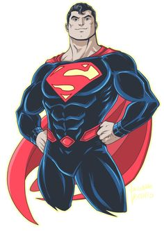 Superman Rebirth by LucianoVecchio.deviantart.com on @DeviantArt