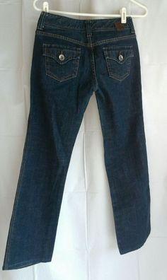 X2 DARK DENIM WOMENS JEANS SZ 2 (28 X 28) , #B44 #Express #Jeans