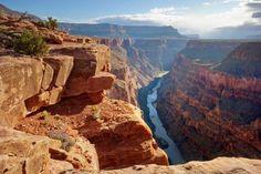 Não tem quem não se impressione com o Grand Canyon! Ele é tão belo, que é um dos parques nacionais m... - Shutterstock