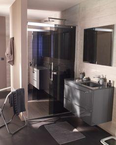meuble salle de bain castorama taupe