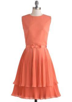Grapefruit Sangria Dress, #ModCloth