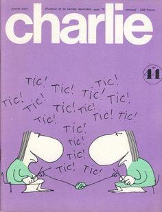Charlie Mensuel - # 44 - Septembre 1972 - Couverture de Copi