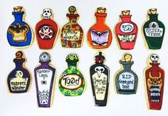 Potions cookies