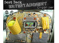 Button - Seat Back Entertainment Organizer Title