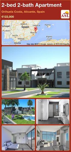 2-bed 2-bath Apartment in Orihuela Costa, Alicante, Spain ►€122,000 #PropertyForSaleInSpain