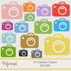15 Camera Clipart