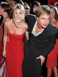 SEPTEMBER 2000 Brad Pitt, Jennifer Aniston