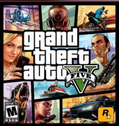 Grand Theft Auto V for Playstation 3 or XBox 360 Just $33.99!
