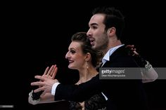 Gabriella Papadakis and Guillaume Cizeron of...