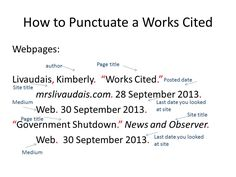 Citation diagram illustrating how to cite an interactive reference ...