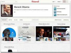 Obama também está no Pinterest