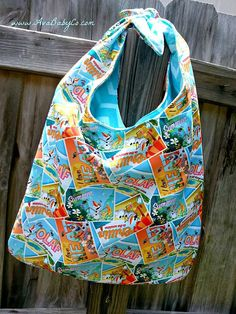 Beautiful Handmade Frozen Olaf Inspired Hobo Bag by AvaBabyCo, $40.00