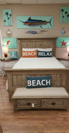 Beach Relax, Coastal Furniture, Trading Company, Big Fish, Bedroom Styles, Toy Chest, Storage Chest, Entryway, Artwork