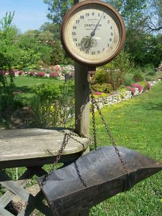 Need an old hanging scale!