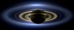 Cassini Reveals Saturn In Stunning 400,000 Mile Wide Panorama. This is a photo, not an illustration. Wowzers