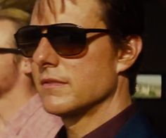 L. G. R. Tangeri Aviator Sunglasses as seen on Ethan Hunt in Mission: Impossible - Rogue Nation | TheTake.com