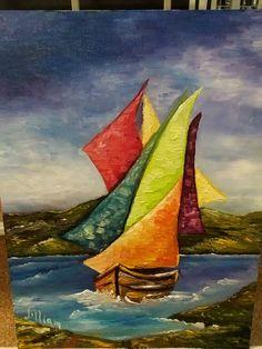 Oleo pintado por Lilliam Romero  Costa Rica. Junio 2015