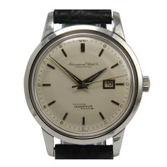 Stainless Steel Ingenieur Wristwatch with Date circa 1961 by IWC