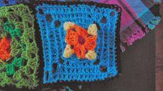 Kwadraty szydełkowe czyli kwadraty Babuni  na szydełku