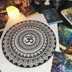 Mandala Doodle, Mandala Art Lesson, Mandala Artwork, Mandala Painting, Mandala Drawing, Mandala Tattoo, Painting Art, Watercolor Painting, Doodle Art Drawing