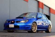 Introducing the New Rota T2R on Mike T's STi - NASIOC