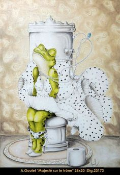 Original acrylic painting by Anouck Goulet #art #acrylicpainting…