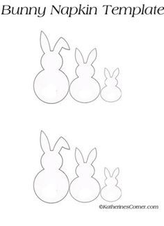 bunny template bunny template