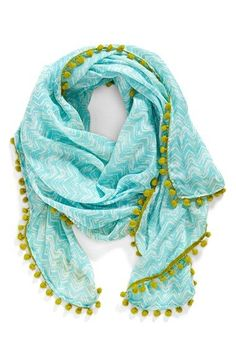 JULES+SMITH+Chevron+Print+Scarf+available+at+#Nordstrom