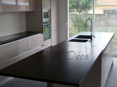 Silestone Grey Expo Leather Paired With Ann Sacks Metro Crisp Sleet And Cemento Paired With Ann