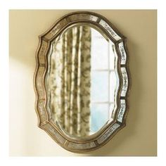 Shaped Victorian Venetian Etched Frameless Wall Mirror Antique by Home Decor Source, http://www.amazon.com/dp/B006W5U962/ref=cm_sw_r_pi_dp_14g8rb1S1QF4B