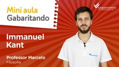 👉Nesta vídeo aula o Prof. Marcelo Ricci preparou um material completo sobre o filósofo alemão, fundador da filosofia crítica. Material que frequentemente cai no Enem.📚 📖📝   #ImmanuelKant #Criticismo #GabaritandoEnem #Enem #Filosofia #FilosofiaEnem #ProfessorMarcelo Karl Marx, Professor, Vestibular, Mini, Mens Tops, Physics Lessons, Founding Fathers, Screenwriting, Socialism