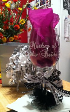 Custom Monogram Vinyl Wine Glass Decals Cell Phone Bridal Party - Custom vinyl decals for glass