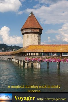 A magical morning walk in misty Lucerne (Win a giveaway)