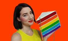 Rainbow Cake Purse by Rommydebommy