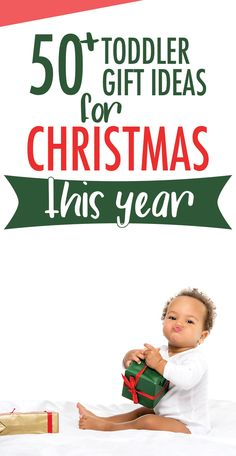 50 + Toddler Gift Ideas for Christmas This Year. Get some great gift ideas for your toddler and stop stressing about what to get them this Christmas. This toddler gift guide has got you covered with over 50 great present ideas! #christmas #toddlers Christmas Presents For Toddlers, Toddler Christmas, Christmas Gifts For Her, Holiday Gifts, 1st Christmas, Family Holiday, Holiday Fun, Holiday Ideas, Christmas Ideas