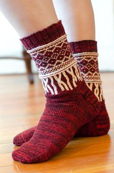 Ravelry: Fringe Socks pattern by Stephannie Tallent