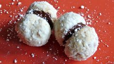 Baci di dama, lady's kisses. Heavenly lips with a chocolate smile. These are classic Italian cookies from Piemonte, one of the gastronomic meccas of Italy. The region is rich in all sorts of delica...
