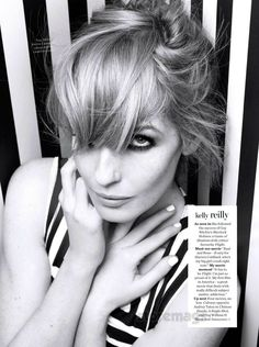 Kelly Reilly - InStyle by Rankin, March 2013