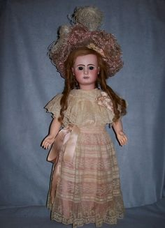 Steiner Petit Pas, all original from Au Nain Bleu - Antique Doll SOLD from Faraway Antique Shop