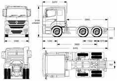 Layth Jawad: Blueprints Trucks and vehicles Templates Rc Cars And Trucks, Volvo Trucks, Big Trucks, Mercedes Benz, 6x6 Truck, Truck Detailing, Wooden Toy Trucks, Truck Design, Car Drawings
