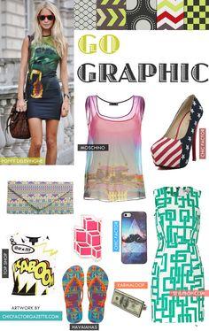 Graphic Prints| Graphic prints Dress| Graphic Print Shoes | Online Fashion Magazine India | Best DIY Blog India | Makeup Tutorial Site | Chic Factor Gazette