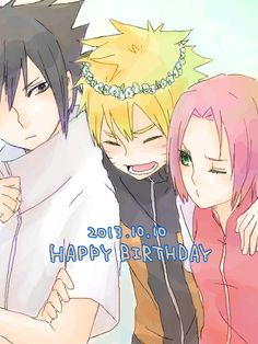 Today is Naruto's birthday.